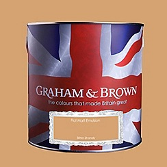 Graham & Brown - Matt finish Bitter shandy paint