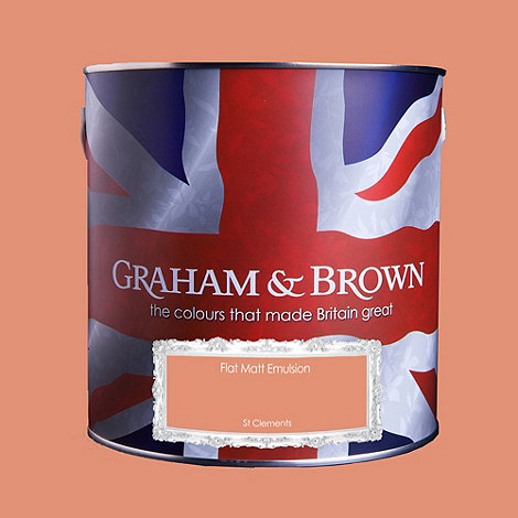 Graham & Brown - Matt finish St Clements paint