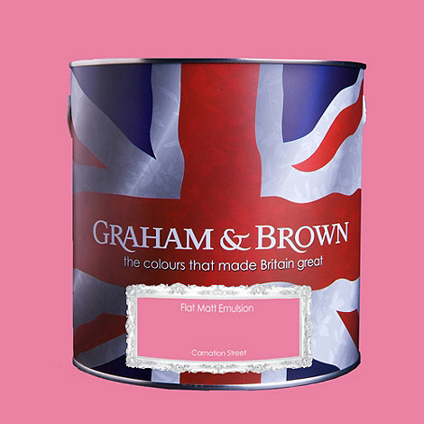 Graham & Brown - Matt finish Carnation street paint