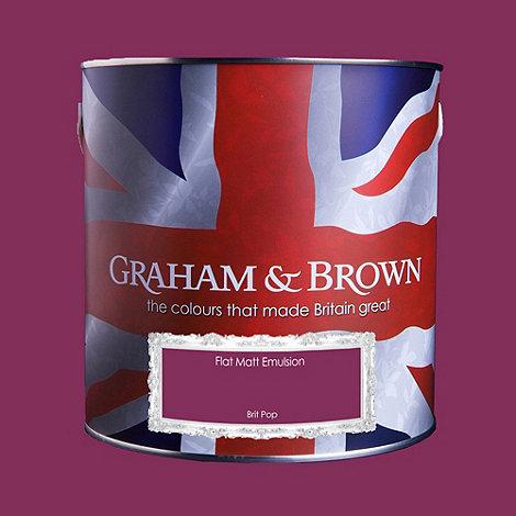 Graham & Brown - Matt finish Brit pop paint