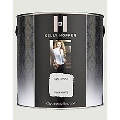Kelly Hoppen - Matt finish Pima White paint