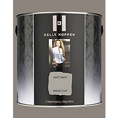 Kelly Hoppen - Matt finish Baked Clay paint