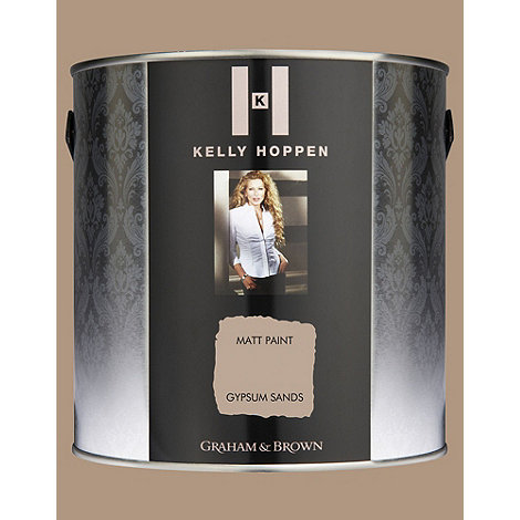 Kelly Hoppen - Matt finish Gypsum Sands paint