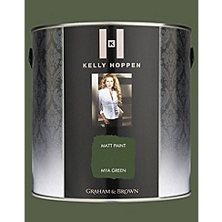 Kelly Hoppen - Matt finish Mya Green paint