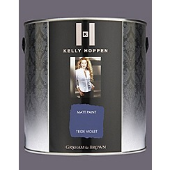 Kelly Hoppen - Matt finish Teide Violet paint