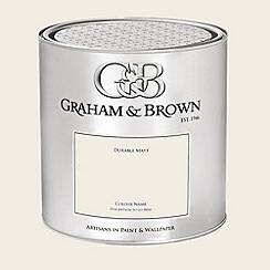 Graham & Brown - White Natural Cotton paint