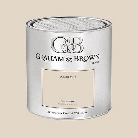 Graham & Brown - Cream Cambridge Cream paint