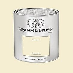 Graham & Brown - Yellow Oakville paint