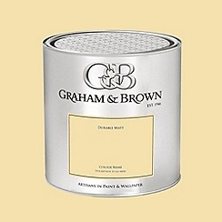 Graham & Brown - Yellow Daisyfield paint