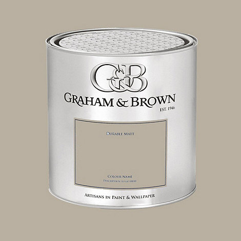 Graham & Brown - Taupe Wetherby paint