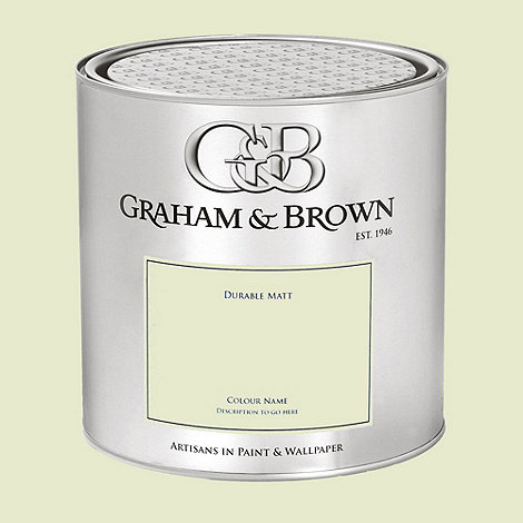 Graham & Brown - Green Haygarth Green paint