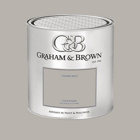 Graham & Brown - Grey Moscow paint