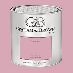 Graham & Brown - Pink Plantation Rose paint