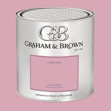 Graham & Brown - Pink Plantation Rose paint