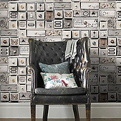 Superfresco - Vintage Trinket Box Wallpaper