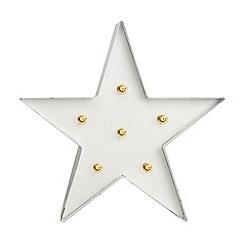 Graham & Brown - White Light Star Art