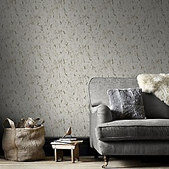 Graham & Brown - Milan Tan Brown Natural Cork Texture Wallpaper