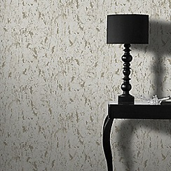Graham & Brown - Milan Taupe Natural Cork Texture Wallpaper