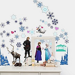 Disney - Blue Disney Frozen Small Sticker Pack