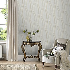 Graham & Brown - Ivory Tango Wallpaper