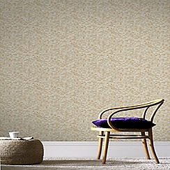 Graham & Brown - Gold Jive Wallpaper