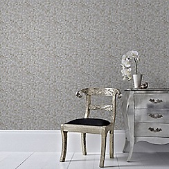 Graham & Brown - Grey and Champagne Jive Wallpaper