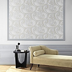 Graham & Brown - Mist Flamenco Wallpaper