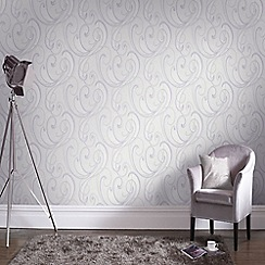Graham & Brown - Pastels Flamenco Wallpaper