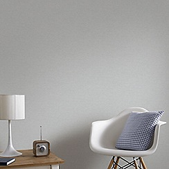 Graham & Brown - Silver Shimmer Wallpaper