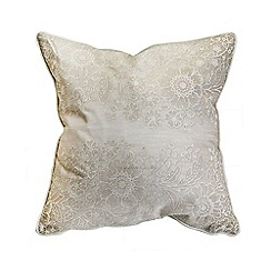 Graham & Brown - Printed Lace 1 Effect Cushion