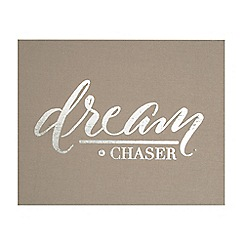 Graham & Brown - Dream Chaser Embellished Fabric Wall Art