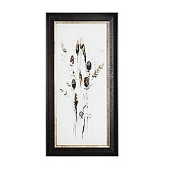 Graham & Brown - Seed Head 1 Metallic Framed Print Wall Art