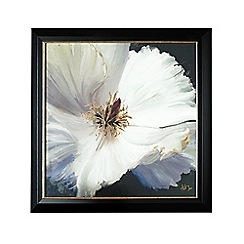 Graham & Brown - Glamour Floral Metallic Framed Print Wall Art
