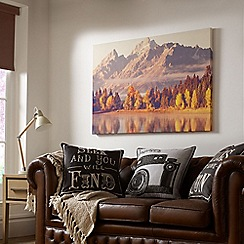 Graham & Brown - Autumnal Mountains Printed Wall Art