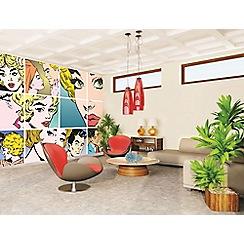 Graham & Brown - Pop Art Wall Mural