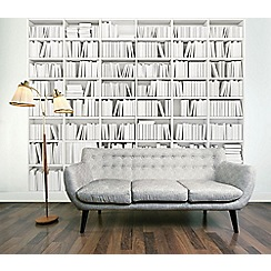 Graham & Brown - Library Bookcase Wall Mural