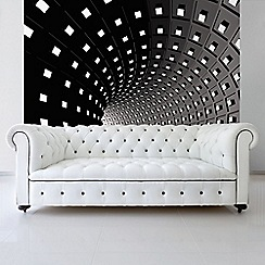 Graham & Brown - Abstract Modern Infinity Tunnel Wall Mural