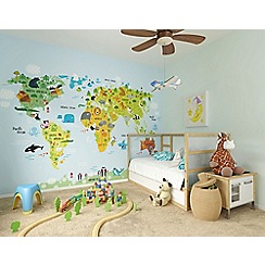 Graham & Brown - Kids The Whole Wide World Wall Mural