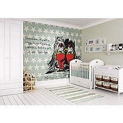 Graham & Brown - Alice In Wonderland Fun Wall Mural