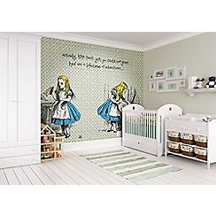 Graham & Brown - Alice in Wonderland Quote Wall Mural
