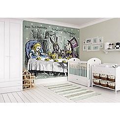 Graham & Brown - Alice in Wonderland Tea Party Wall Mural