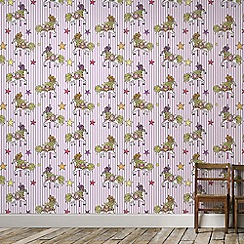 Graham & Brown Kids - Pink Carousel Kids Wallpaper