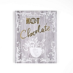 Graham & Brown - Grey Hot Chocolate Print Wall Art