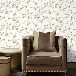 Kelly Hoppen - Gold 'Splash' Designer Wallpaper