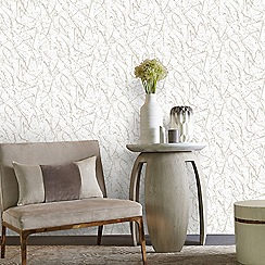 Kelly Hoppen - Gold 'Splat' Designer Wallpaper