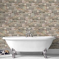 Contour - Natural Sandstone Wallpaper