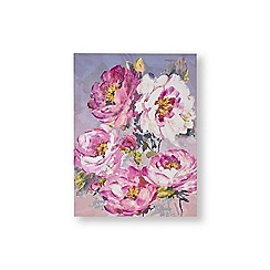 Graham & Brown - Chelsea blooms painted canvas