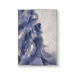Graham & Brown - Serene waves hand painted canvas