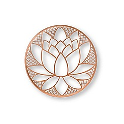 Graham & Brown - Lotus flower metal art