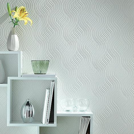 Superfresco Paintables - White Pure Wallpaper